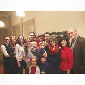 Pratt Family, Christmas 2014