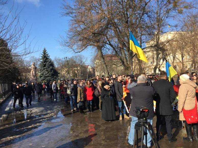 March to commemorate those who died in Euromaidan