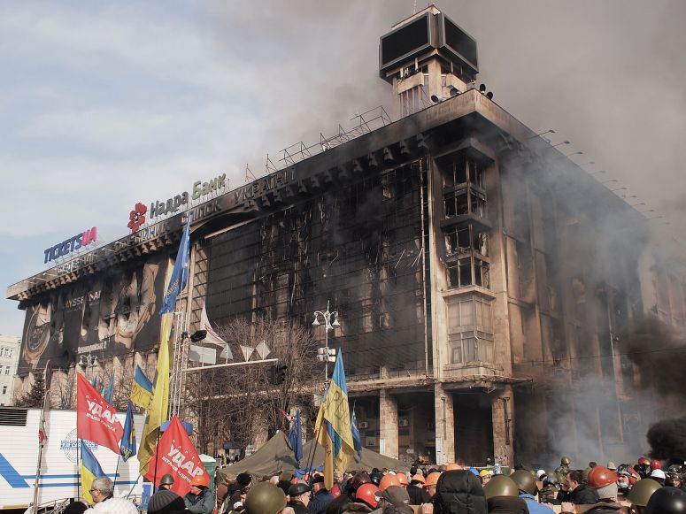 photo credit - Amakuha - https://commons.wikimedia.org/wiki/File:Euromaidan_in_Kiev_2014-02-19_12-00.jpg
