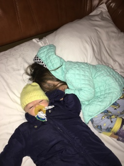 Nora and Titus - early morning travel
